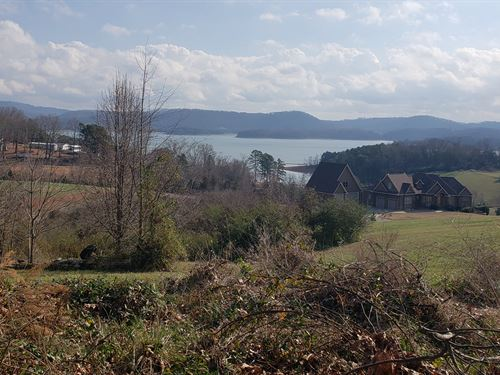 Sweeping Lake & Mountain Views : Rutledge : Grainger County : Tennessee