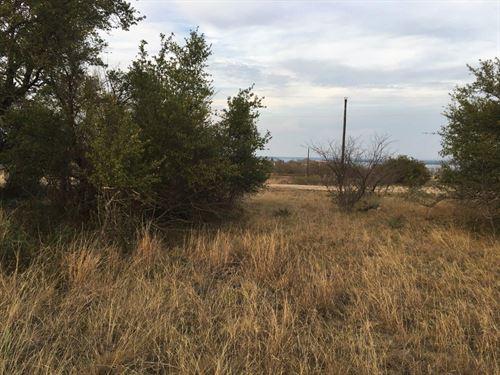 Homesite Kings Point Cove View Lake : Brownwood : Brown County : Texas