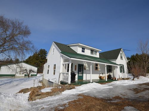 Maine Farmhouse in Passadumkeag : Passadumkeag : Penobscot County : Maine
