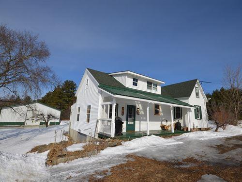 Farmhouse in Passadumkeag, Maine : Passadumkeag : Penobscot County : Maine
