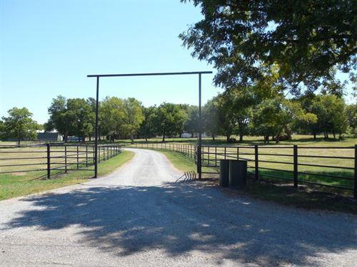 Horse / Cattle Ranch in Pryor OK : Pryor : Mayes County : Oklahoma