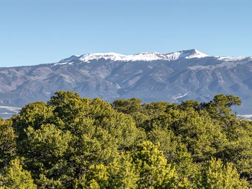 Ranch By 3,600 Acres Of Blm Land : Walsenburg : Huerfano County : Colorado