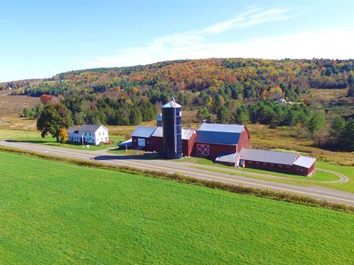 Beautifully Updated Farm : Bainbridge : Chenango County : New York