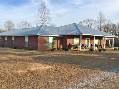 Halso Mill Rd House : Greenville : Butler County : Alabama