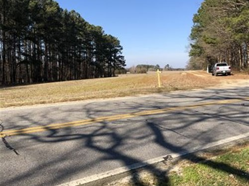 Farm With Development Potential : Red Oak : Nash County : North Carolina