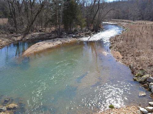 496 Acres of Recreational Hunt : Pyatt : Marion County : Arkansas