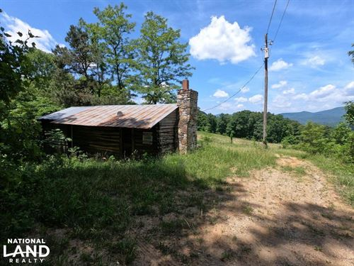 Mountain Pasture With Panoramic Vie : Hendersonville : Henderson County : North Carolina