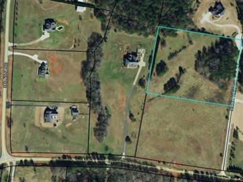 5 +/- Ac Residential Lot : Covington : Walton County : Georgia