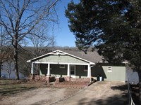 Lakefront Home, Private Dock : Fredericktown : Madison County : Missouri