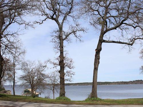 Double Waterfront Lots Lake : Frankston : Henderson County : Texas