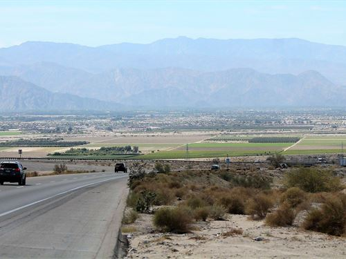 Gorgeous Land With Salton Sea View : North Shore : Riverside County : California