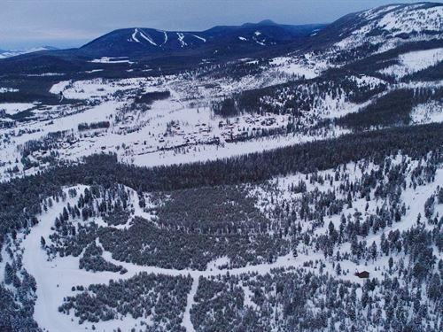 Discovery Ski Overlook : Anaconda : Deer Lodge County : Montana