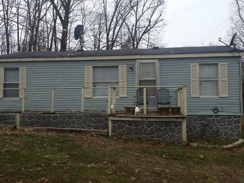3 Bedroom 1 Bath Double Wide Small : Des Arc : Iron County : Missouri