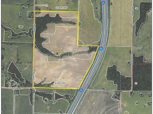 Tillable Farm Land in NW Missouri : Pattonsburg : Daviess County : Missouri