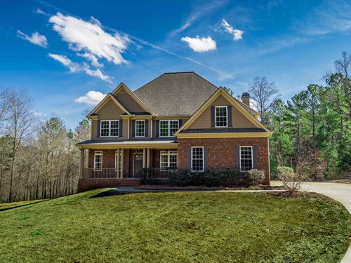 4,000 Sqft Home On 9.75 Acres : Monroe : Walton County : Georgia