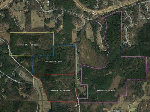 Snow Springs Tract 2 219 Acres : Adairsville : Bartow County : Georgia