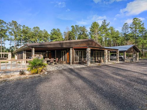 Custom Ogeechee Riverfront Home : Midville : Burke County : Georgia