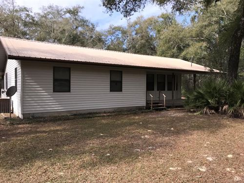 Home Short Distance TO River : Chiefland : Levy County : Florida
