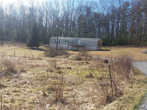 Mobile Home 1.58 Acre Lot, Pipestem : Pipestem : Summers County : West Virginia
