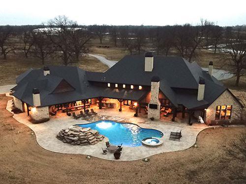 Custom 5Br 5.5Ba 8,000 sf Hom : Inola : Rogers County : Oklahoma