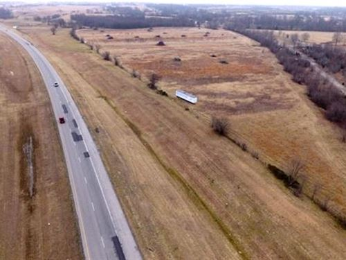 4 Ac, With Hwy 412 Frontage : Inola : Rogers County : Oklahoma