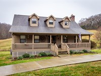 East Tennessee Country Home Acreage : Morristown : Hamblen County : Tennessee