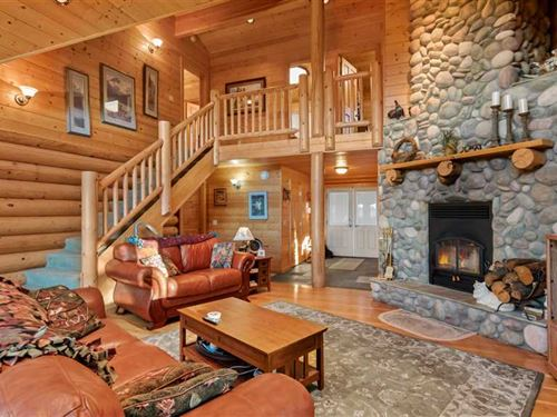 Private Estate Overlooking The Dee : Ninilchik : Kenai Peninsula Borough : Alaska
