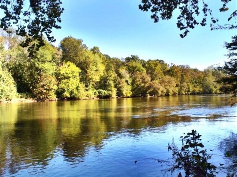Very Private Ocmulgee River Lot, 4 : Land for Sale : Juliette : Monroe  County : Georgia