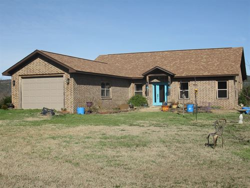 Horse Ranch With Home For Sale : Clayton : Pushmataha County : Oklahoma