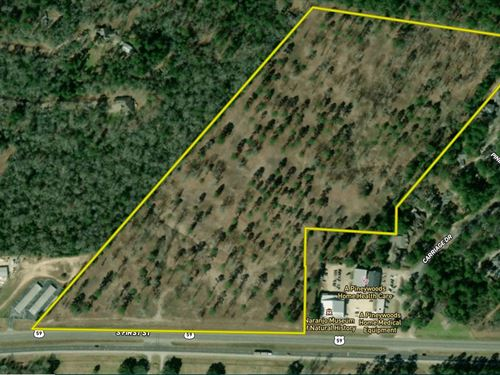Hwy 59 South Commercial Land : Lufkin : Angelina County : Texas