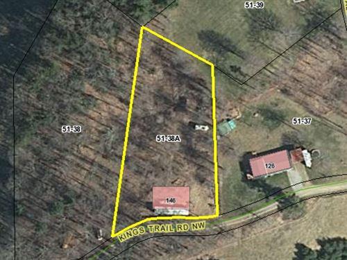 Wooded Building Lot in Willis VA : Willis : Floyd County : Virginia