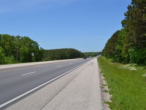 Land For Sale, Us Highway Frontage : Mountain View : Howell County : Missouri