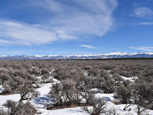 Beautiful View Atop The Mesa : San Luis : Costilla County : Colorado