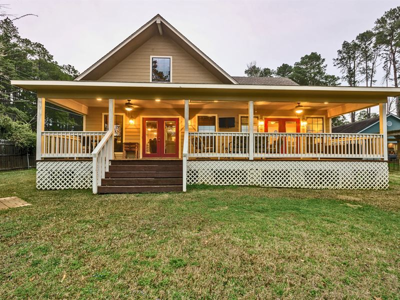 Texas Lakefront Home Auction : Henderson : Rusk County : Texas