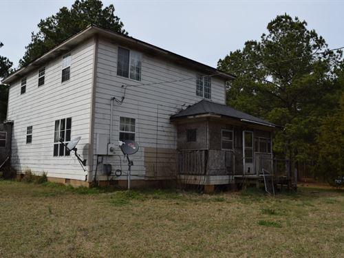 Country Home, Tlc, Acreage : Prescott : Nevada County : Arkansas