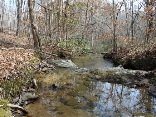 Exceptional Stream And Waterfalls : Bremen : Haralson County : Georgia
