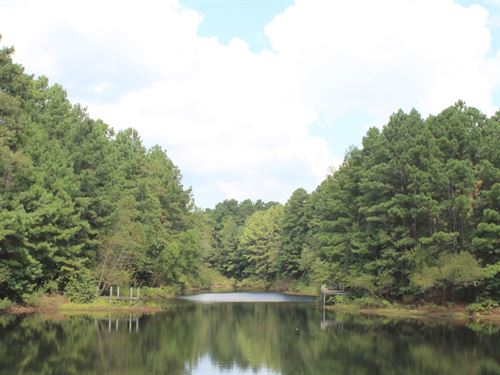 Large Waterfront Lot Private Lake : Winnsboro : Wood County : Texas