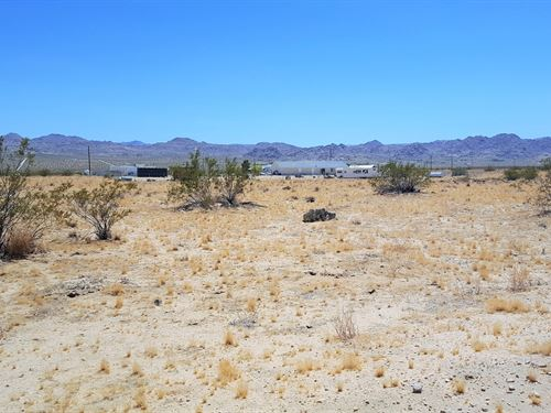 Beautiful Lot, Power, Killer Views : Joshua Tree : San Bernardino County : California