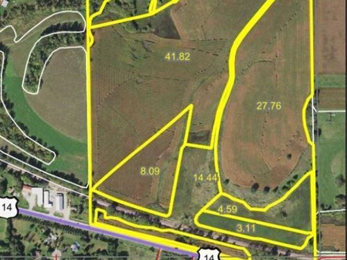 Farmland & Investment Opportunity : Rochester : Olmsted County : Minnesota