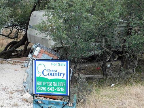 3 Water Front Lots, Rv Lake : May : Brown County : Texas