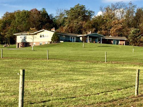 10 Acres, Impeccable Home : Benton : Columbia County : Pennsylvania