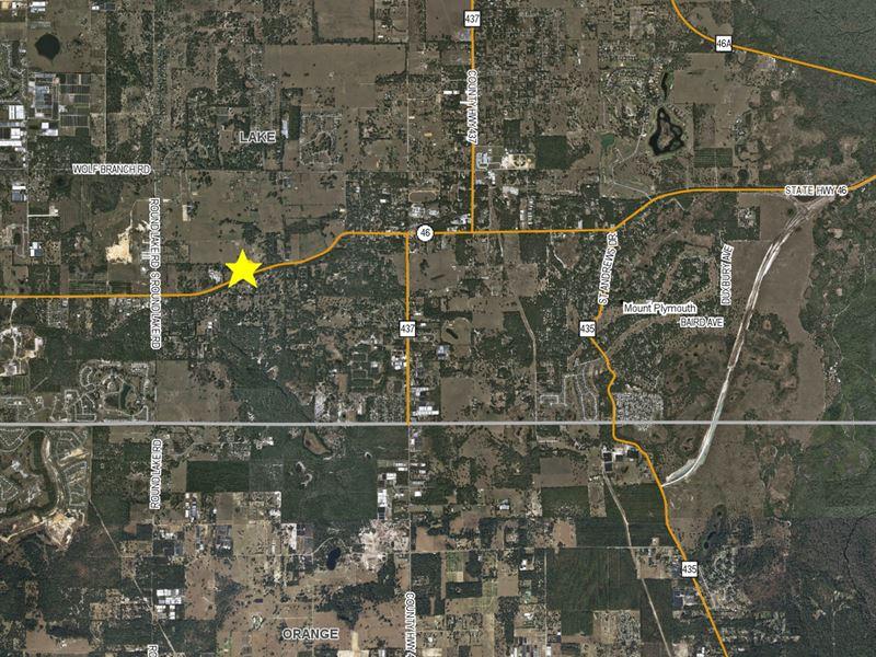 Home & Greenhouses For Lease : Sorrento : Lake County : Florida