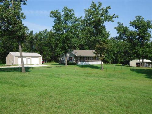 Hobby Farm Southern Missouri Ozarks : Mansfield : Wright County : Missouri
