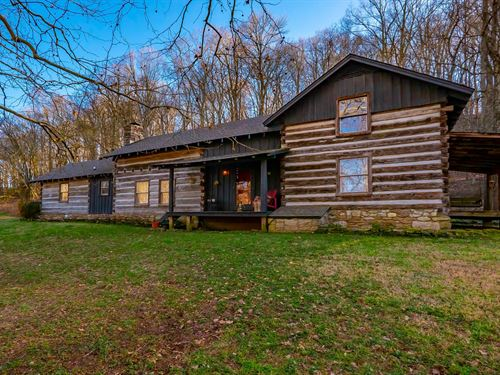 Historic Log Home Middle Tennessee : Franklin : Williamson County : Tennessee