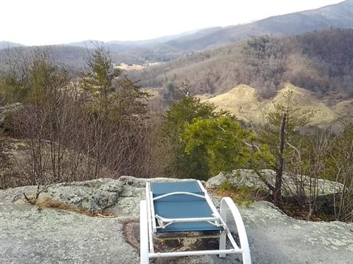 46 Acres Mountain Top Southwest : Independence : Grayson County : Virginia