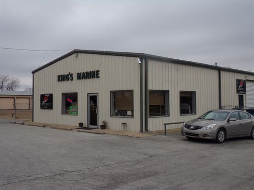 Boat And Storage Building For Sale : Ketchum : Craig County : Oklahoma