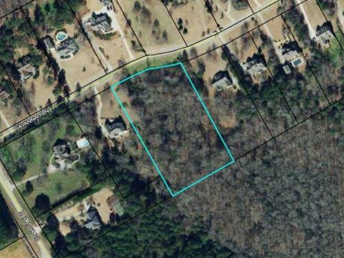 Wooded Lot In Great Neighborhood : Monroe : Walton County : Georgia