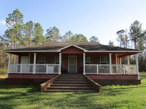 Very Private Home 4 Acres Fish : Hosford : Liberty County : Florida