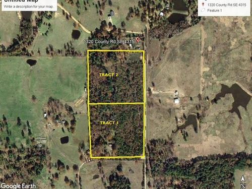 7 East Texas Acres, Franklin County : Winnsboro : Franklin County : Texas
