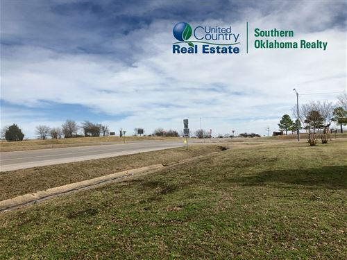 Land Wilson, Ok, Road Frontage Two : Wilson : Carter County : Oklahoma